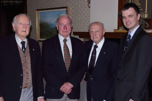 Bomber Command veterans at Killara, November 2013