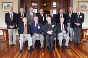 Bomber Command veterans in Killara, November 2013