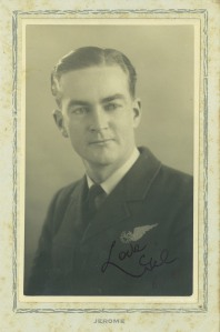 Gilbert Pate in London. Photograph courtesy Gil and Peggy Thew