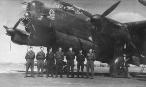 The crew of Flight Lieutenant J