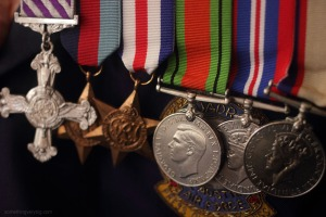Don Huxtable's medals