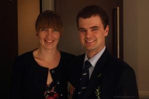 Rachel McIntosh and Adam Purcell