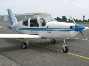 F-GKVV, the TB-9 we flew over Lille