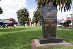 RAAF Nhill memorial in the town