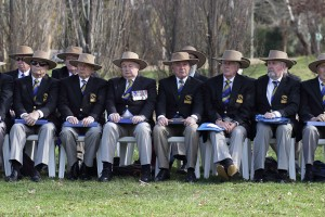 The Australian Rugby Choir led the singing