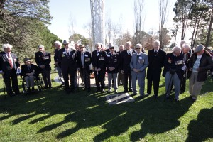 Bomber Command veterans in Canberra